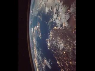 Облет Земли с Международной космической станции. #NASA.