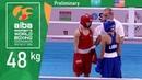 (W48kg) Kazakhstan vs USA /AIBA Women's World 2018/