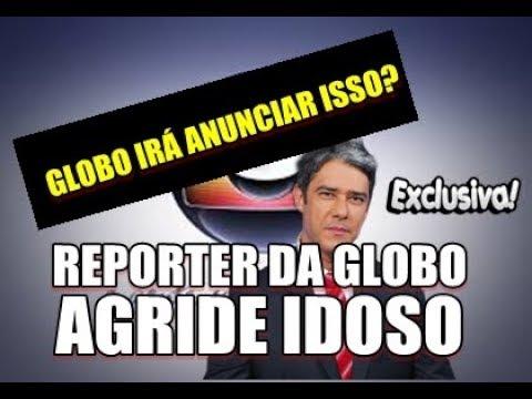 REPORTER DA GLOBO AGRIDE SENHOR DE IDADE EM ELEVADOR VEJA O VÍDEO!