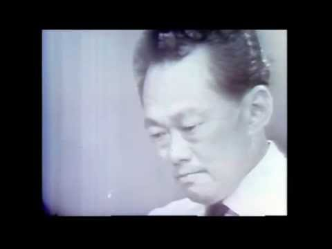 PM Lee Kuan Yew Cry