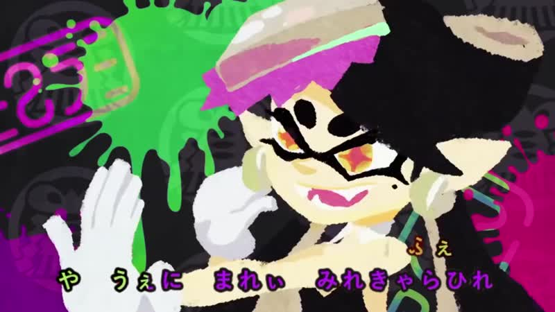 MAD Splatoon BGM ✖ シオカラ節 VOCALOID Япония japan Game MAD playingmusic Splatoon
