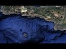 Объекты на дне Средиземного моря