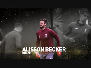 🇧🇷 brazilian goalkeeper @alissonbecker is 25th in the final ranking of the 2018 ballon dor #ballondor