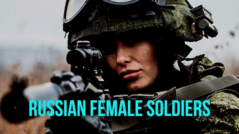 Beautiful Russian Female soldiers 2019