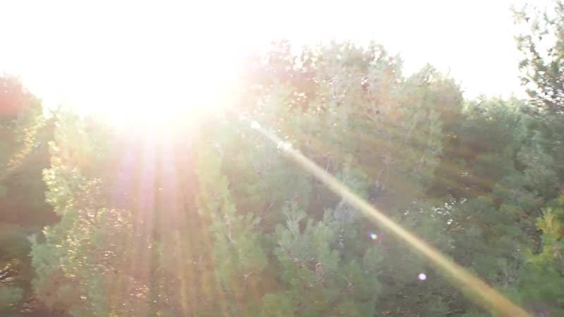 Рассвет с балкона в номере Комфорт