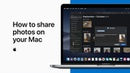 How to share photos on your Mac — Apple Support