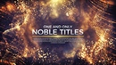 Noble Titles (an After Effects Template)