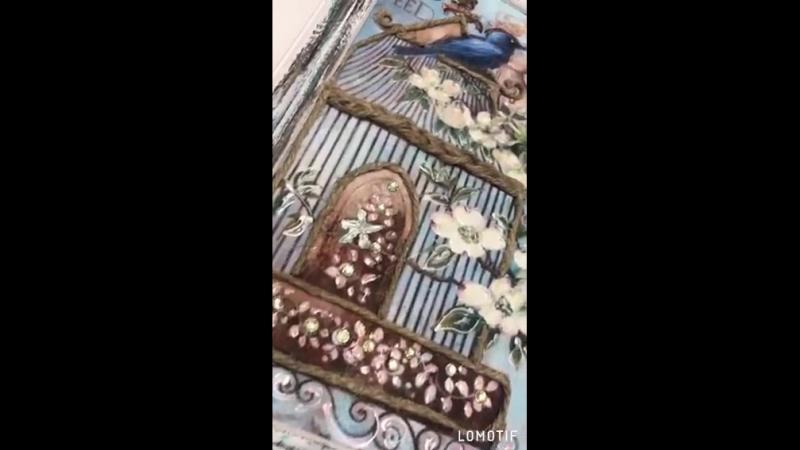 Интерьерное панночки Райские птички