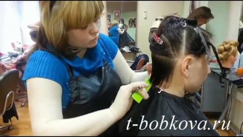 Стрижка боб-каре (модельер Тихомирова Вероника Николаевна)