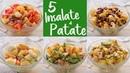 5 IDEE per INSALATA FREDDA DI PATATE Ricetta Facile 5 Easy Potato Salad Recipes