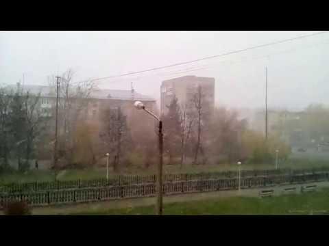 Первый снег (Новоуральск 12/10/2018)