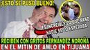 Reciben a Noroña a Gritos ¡¡NADIE SE LO ESPERABA!! El video que no Salio en Tv del Mitin de AMLO