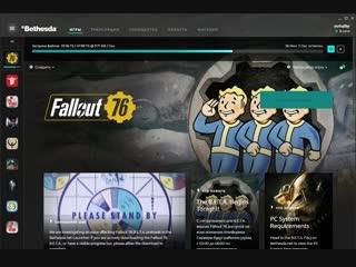 Fallout 76 . стрим от создателя fow