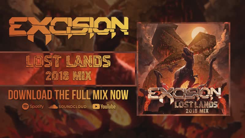 Excision Lost Lands 2018 Mix Promo Video