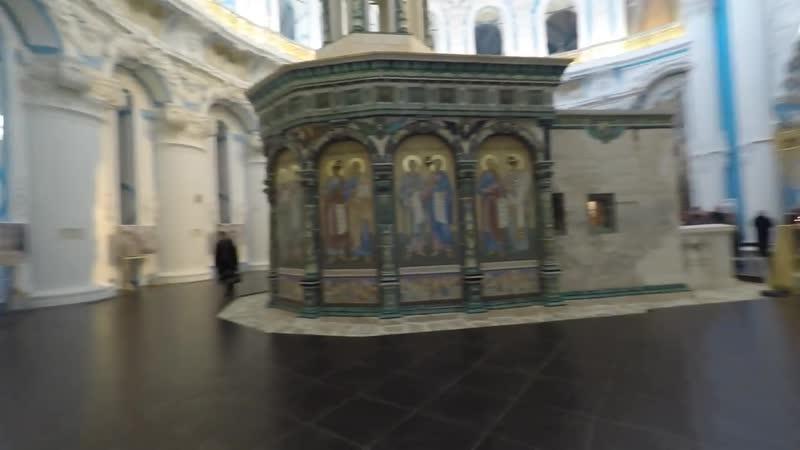 Истра Новоиерусалимский монастырь внутри 4K (LanParte GoPro HERO4 Black)