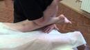 Освобождение мышцы от триггерных точек. Работа локтем и ПИР.