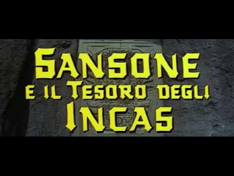 Film avventuroso Sansone e il tesoro degli Incas (1964)