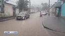 Грязевой поток заблокировал улицы Феодосии
