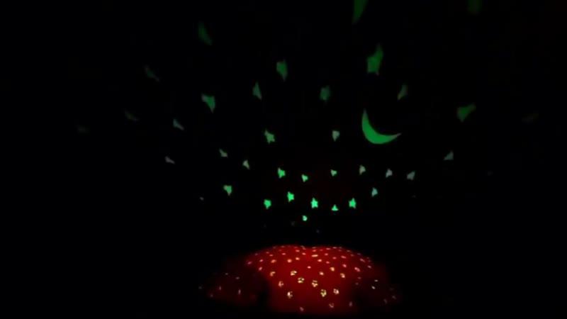 Музыкальный Ночник-Проектор Звездная черепаха