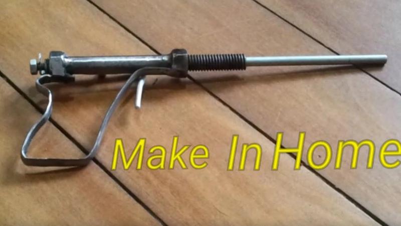 Desi Bandook banane ka Tariak    बन्दूक केसे बनाय    Ak 47