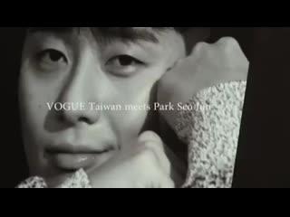 бэкстейдж со съемок для Vogue Taiwan