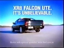 Ford Falcon AU XR8 ute Commercial