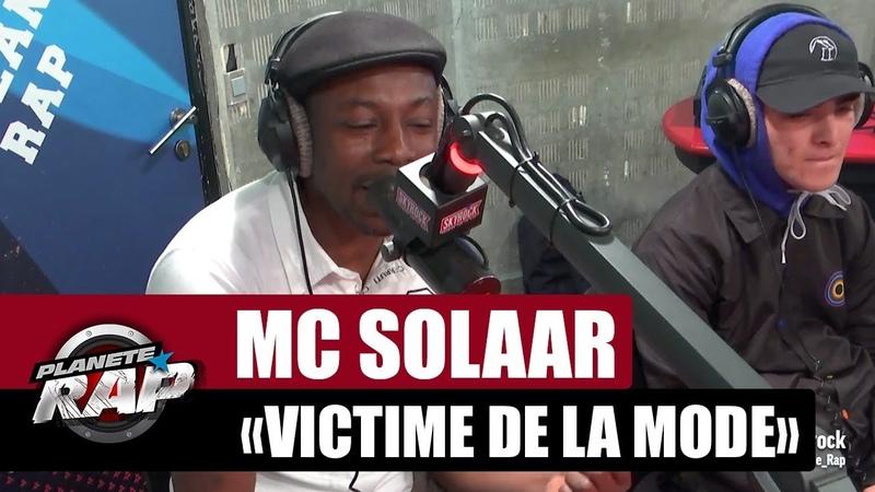 Mc Solaar Victime de la mode PlanèteRap