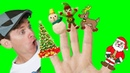 Finger Family Song - Christmas with Matt Nursery Rhymes, Childrens Songs Learn English Kids