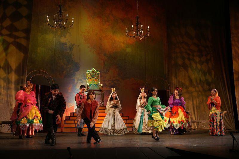 В цыганском театре на Ленинградском проспекте представят сказку «Принцесса Кристана»