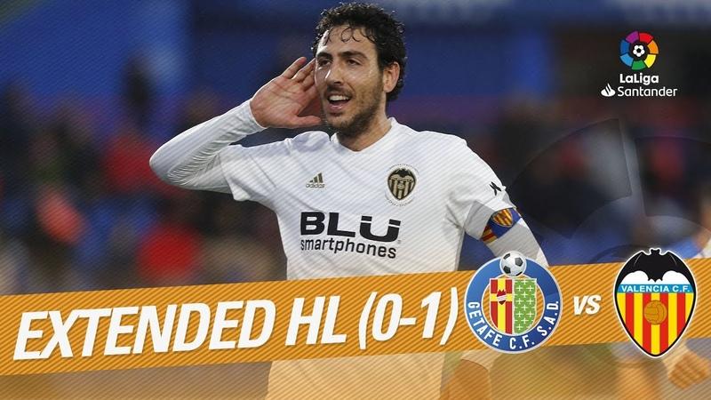 Getafe CF 0-1 VALENCIA CF - Extended Highlights