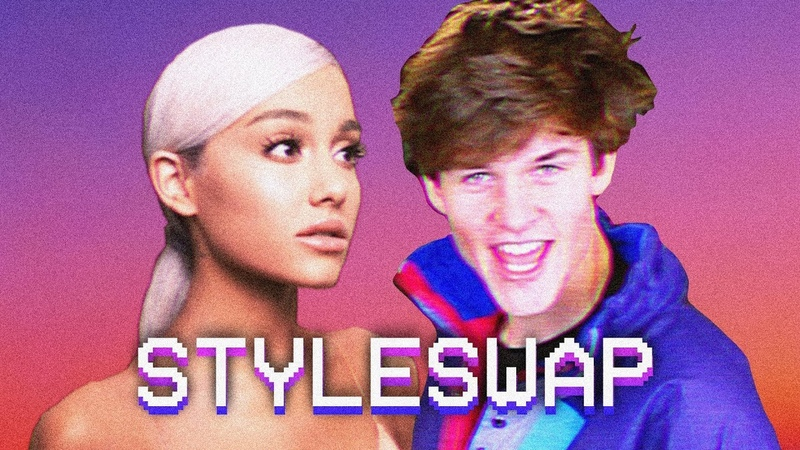 If THANK U NEXT by ARIANA GRANDE was an 80s HIT! | STYLESWAP
