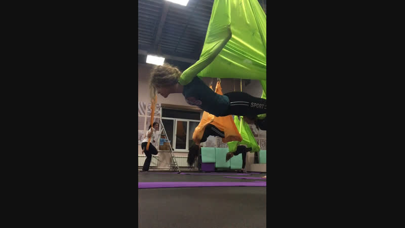 Antigravity yoga 🧘🏻‍♀️