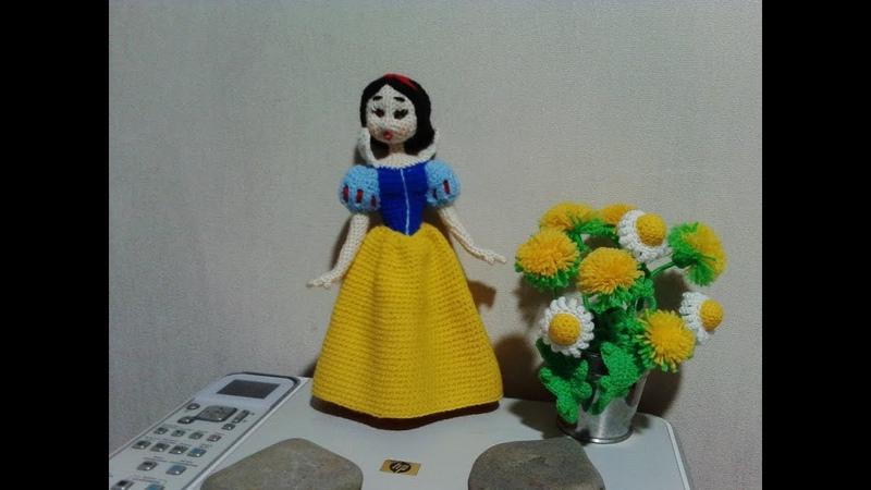 Белоснежка, ч.3. Snow White, р.3. Amigurumi. Crochet. Амигуруми. Игрушки крючком.