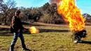 Калаш поджигает ёлку НГ на РР - 2012 Разрушительное ранчо Перевод Zёбры