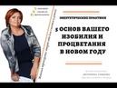 5 основ вашего процветания и изобилия в новом году Антонина Гонцова