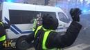 Paris: Violence extrême des gilets jaunes / Violent riots by yellow vests December 2018