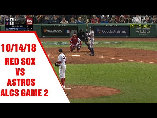 Boston Red Sox Vs Houston Astros   ALCS Game 2 Full Highlights   October 14, 2018