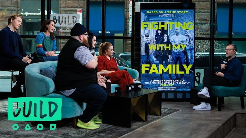 WWE Superstar Paige Bevis The Cast Of Fighting With My Family Talk The Film