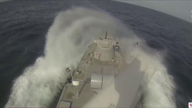 О том , как украинские катера не дали взять штурмом корабли ВМС Украины в Азоввском море