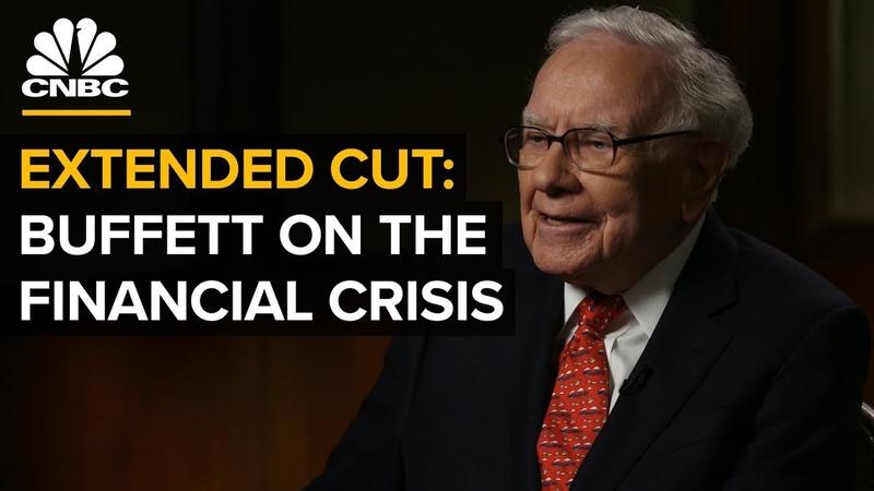 Warren Buffett On The 2008 Crisis | CNBC