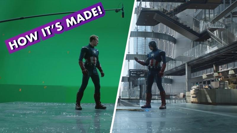 Marvel Studios' Avengers Endgame Making the Cap vs Cap fight