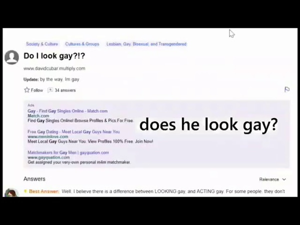 'What is Gay ' Yahoo answers