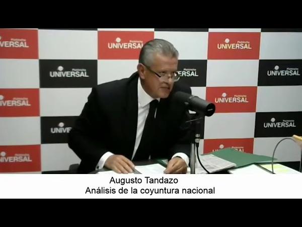 Augusto Tandazo Habla de CPCCS T Hizo lo que les dio la gana 😤