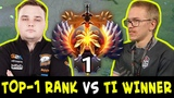TOP-1 Rank vs TI8 winner mid Noone 7.20 META pick vs Topson 7.19 CANCER
