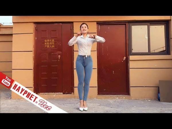 Bước nhảy quần bò gây tò mò bao ánh mắt 👀Nhảy Shufle Dance MU | HAYPHET.NET