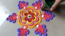 Very Very New latest Beautiful attractive Rangoli Design By Bucketful creation