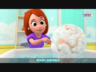 Bingos First Bath - +More Nursery Rhymes by Little Angel