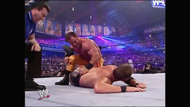 WWE Mania WrestleMania 22 Chris Benoit vs JBL United States Championship