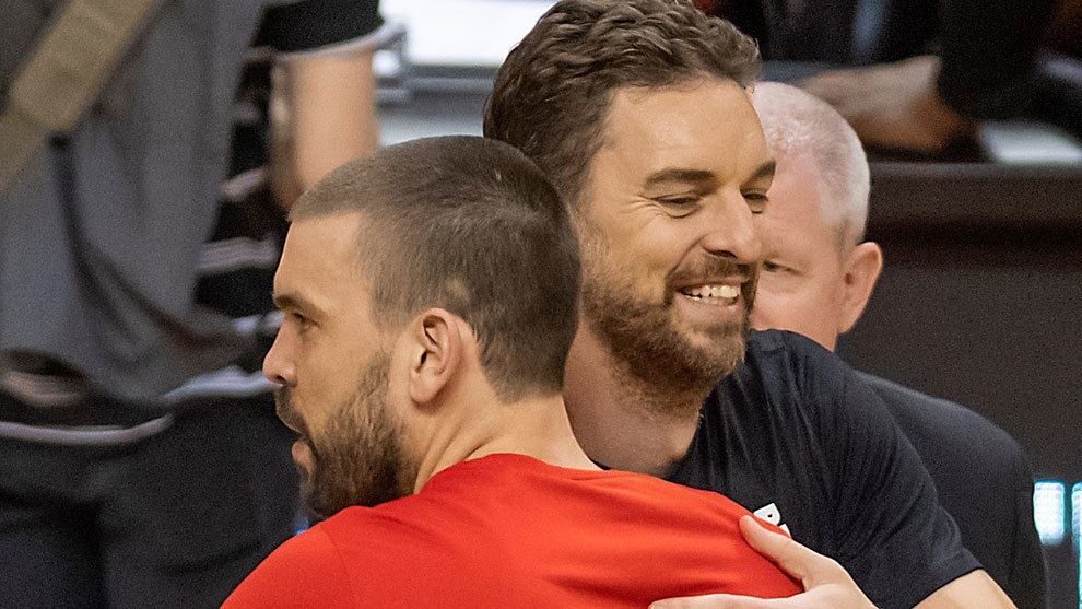 Марк и Пау Газоли – первые братья в истории, которые выигрывали чемпионат НБА