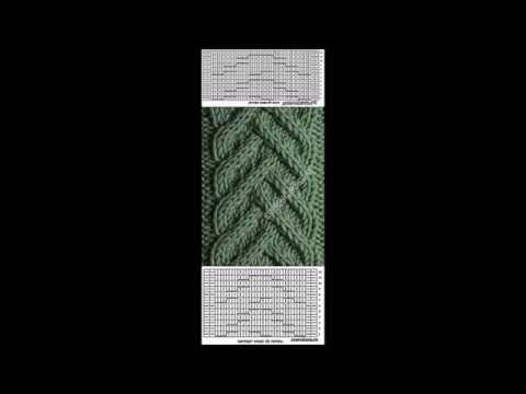 Вязание спицами. Косы и араны №6